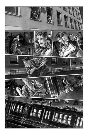 deadball noir comic pg8 chase scene by carbono14