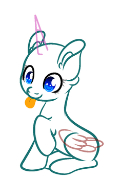 mlp base in my style by EllaEllyLove
