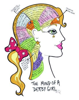 The Mind of a Derby Girl by remdesigns