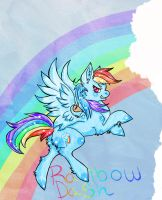Rainbow Dash by TheAsinineCanine