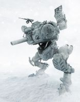 Snow mech 01 by Darkki1