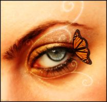 butterfly kiss by LiNoR