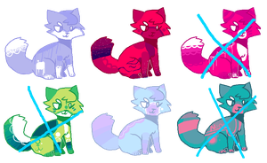 NAME A PRICE ADOPTABLES [3/6 open] by callikat