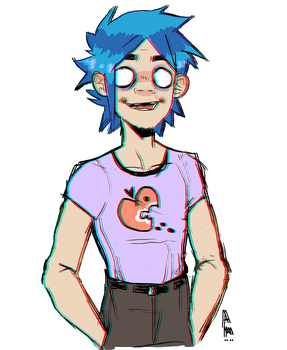 2D by TheWallowingWillow