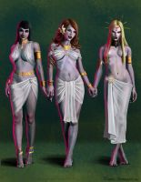 Dracula's Brides by RichardBlumenstein