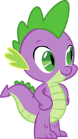 Spike - Oh hey there! by extreme-sonic