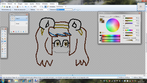 Working on pixel me by Zuri2000Thunder