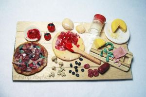 Pizza Preparation Board by margemagtoto