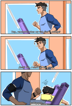 Workout with Craig by Fayolinn