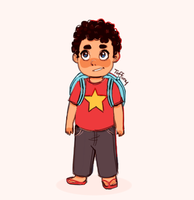 Toddler Steven by Tuffuny