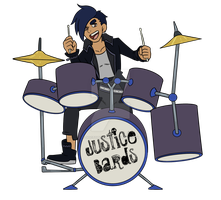 Dee On Drums by DoctorChibi