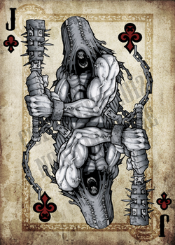 Jack of clubs by NoahW