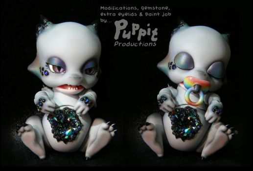 Commission: Mod and blush Aileendoll Pico Ashes 2 by PuppitProductions