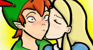 Alice and Peter_THIS is a kiss by FEuJenny07