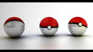 Pokeballs by 3DBasti