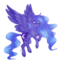 [OPEN COLLAB] Luna by TheElliPelli