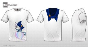 Cute Monsters T-Shirt: DA Design Challenge by color-sekai
