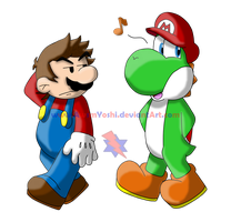 Mario's Hat by Jei-ice