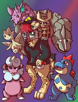 Bixby's Team by WillowTails