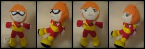 Speedy the Plushie by VesteNotus