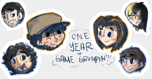 yeehaw grumpiversary by coolgaltw