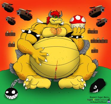 Bowser day by NightCrestComics
