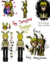 Fnaf 2 The Puppet Female By Sapphire M On Deviantart