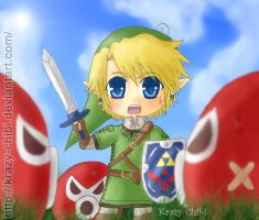 Link's Big World by Krazy-Chibi