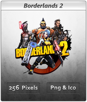 Borderlands 2 - Icon 2 by Crussong