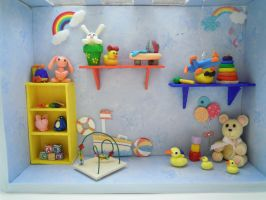 Colorful Play Room by SmallCreationsByMel