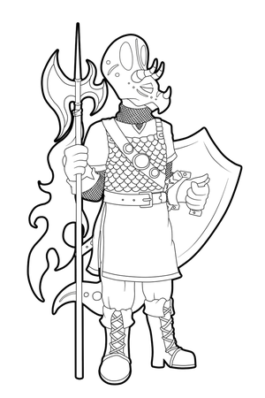[Ref] Sir Phillips - Lineart by HeyAnkey