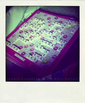 Scrabble -141:365- by JessicaValerie-n-Co