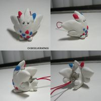 Togekiss Charm by ChibiSilverWings