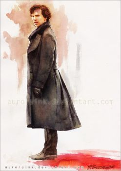 Sherlock: Alone protects me. by AuroraWienhold
