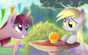 Sorry Derpy... by Adlynh