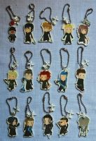 Organization XIII charms by knil-maloon
