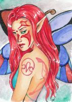 ACEO Xchange - Aurora by artisteri