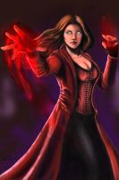 Scarlet Witch by Jhanquaza