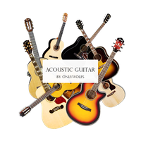 Acoustic Guitar / Guitaras Acusticas [Pack #14] by OnlyWolfs