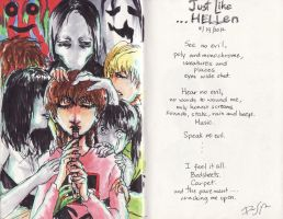 Just Like Hellen by arcanehalo
