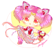 Chibi Moon by Black-Quose