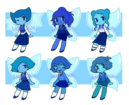 aquamarine adopts [CLOSED] by lemonjusu