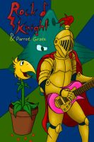 Rock Knight and Parrot Grass by recycledoj
