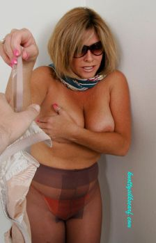 Forced to Strip by knottysilkscarf