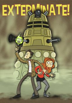 EXTERMINATE! by tyrannus