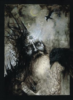 Odin by Andy-Ask