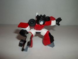 TRANSFORMERS ROBOT HEROES G1 SIDESWIPE by alx333