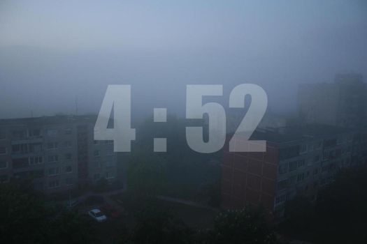 4:52 by theearth