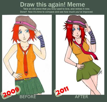 Before and After Meme: Suteishi by SuteishiSan