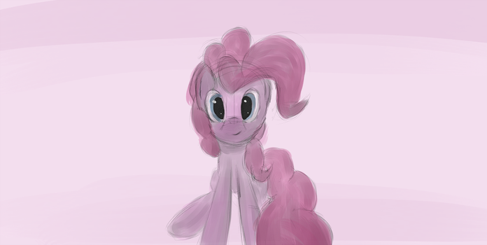 Pinkie Shading by DarkFlame75